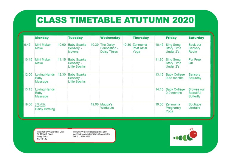 New Version Timetable